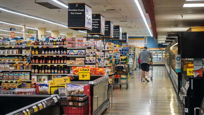 Grocery store signage and retail graphics in Maryland
