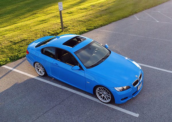 Blue-Gloss-BMW-Maryland-Avery-Dennison-Color-Change-Wraps-in-Maryland