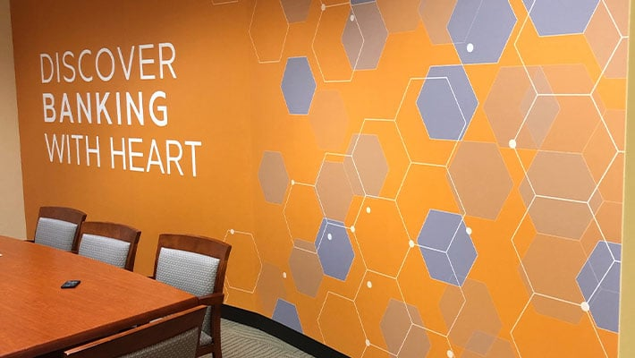 Update your Office Before Reopening Columbia, MD wall graphics company