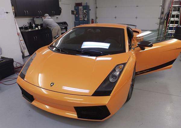 maryland-avery-dennison-vehicle-wrap-gloss-orange-vehicle-wraps-maryland
