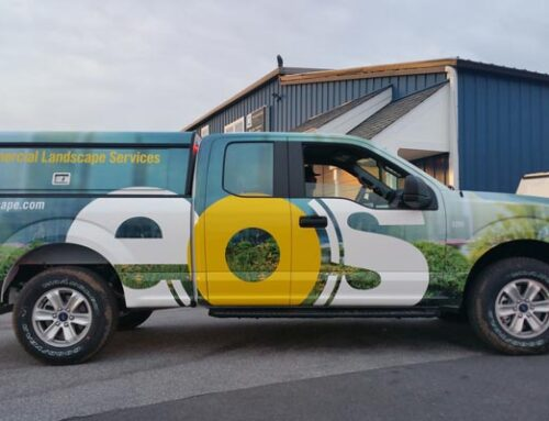 Advertising on Vehicles with Aluminum Bodies