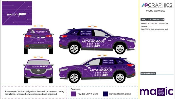 MAGIC_17MazdaCX9_PROOF3-e-fleet-graphics-autonomous-vehicle-fleet-branding